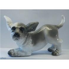 Декоративная фигурка Серая собачка