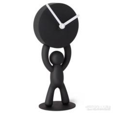 Черные настольные часы Вuddy