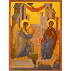 Копия иконы XV века Благовещение Пресвятой Богородицы