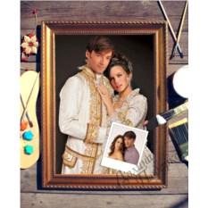 Парный портрет по фото Роскошная пара