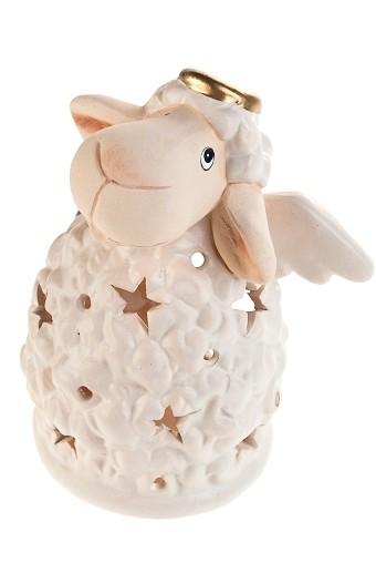 Подсвечник для свечи-таблетки Веселая овечка