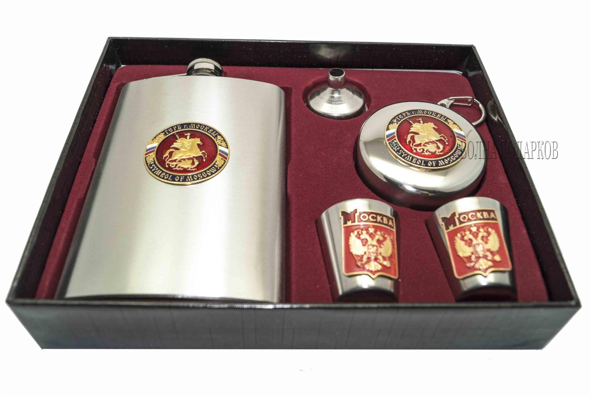 Набор для крепких напитков Герб Москвы