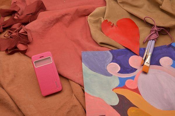 Чехол для iPhone 5 / 5S «Викторианская Англия» (розовый)