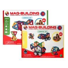 Набор 48 и 36 деталей конструктора Mag-Building