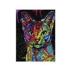 Картины по номерам «Абиссинский кот»