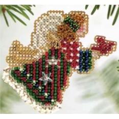 Набор для вышивания Рождественский Ангел Mill Hill