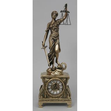 Часы из бронзы «Правосудие»