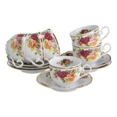 Чайный набор на 6 персон Английские розы