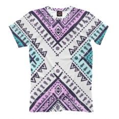 Мужская футболка Индейские мотивы