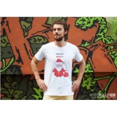 Именная футболка «Верит в чудеса»