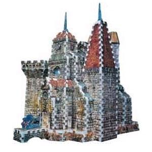 Пазл замок дракулы (с 3-х лет до 14лет)