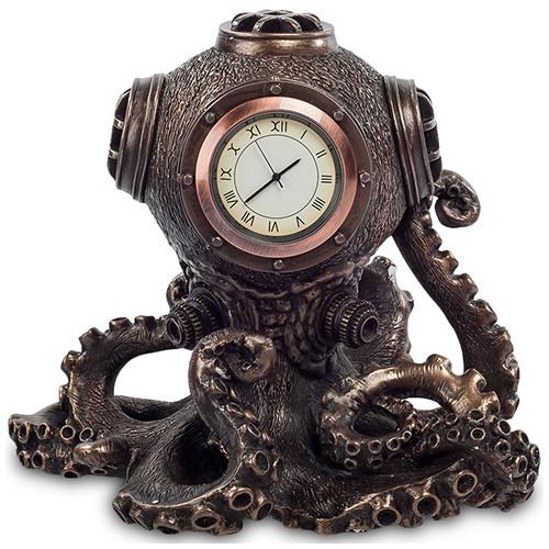 Статуэтка-часы в стиле Стимпанк «Спрут»