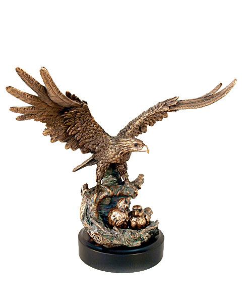 Статуэтка «Орёл в гнезде»