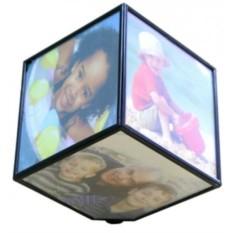 Вращающаяся фоторамка Магический куб