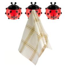 Комплект держателей полотенец Ladybird из 3 штук