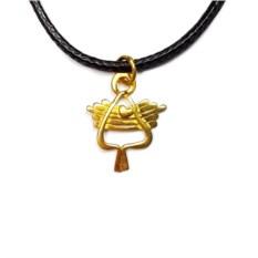 Кулон Херувим (позолоченное серебро)