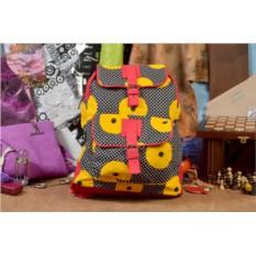 Текстильный рюкзак Желтые диски из коллекции Socotra