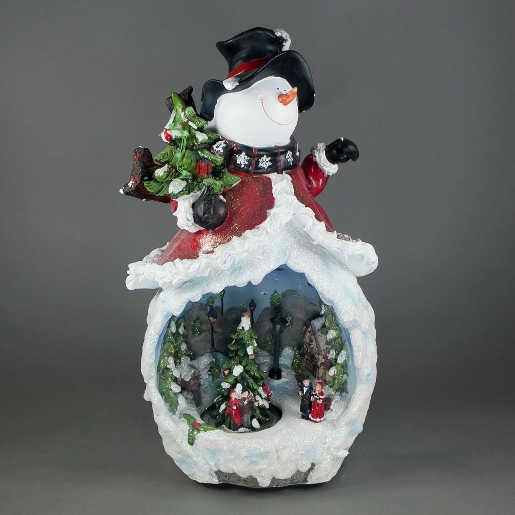 Композиция музыкальная«Снеговик с хороводом»