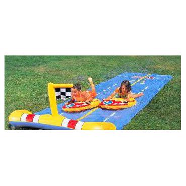 Надувная водная дорожка «Два гонщика»