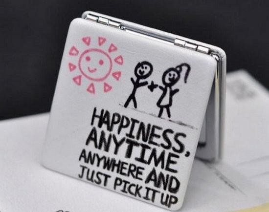Карманное зеркало Мгновенья счастья