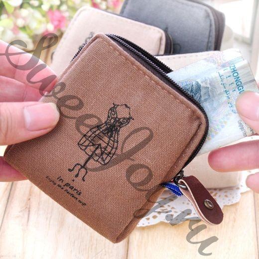 Кошелек для монет Paris Flax (дизайн Манекен (коричневый))