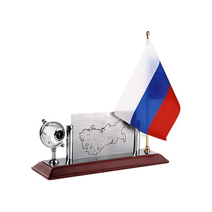 Настольный прибор «Флаг РФ»