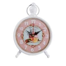 Настольные часы белого цвета