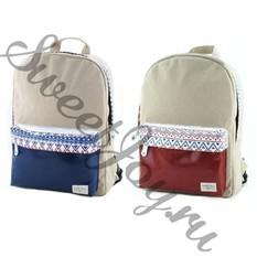 Женский рюкзак Fair Isle Ethnic (Красный)