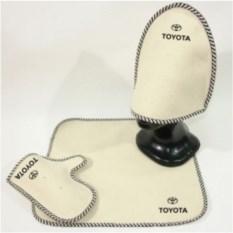 Комплект для бани с логотипом Toyota