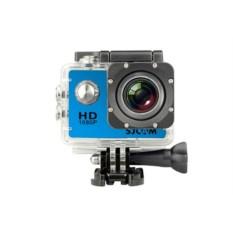 Экшн-камера SJCAM SJ4000 синего цвета