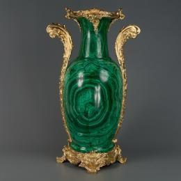 Малахитовая ваза «Барокко»