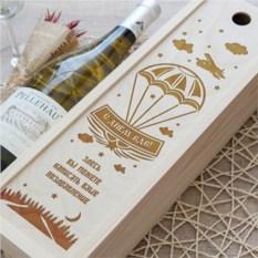 Коробка для вина Слава ВДВ!