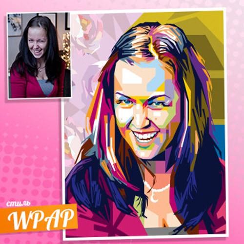 WPAP-портрет по фотографии