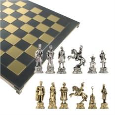 Металлический шахматный набор Балканские войны
