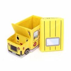 Короб для игрушек и мелочей School Bus