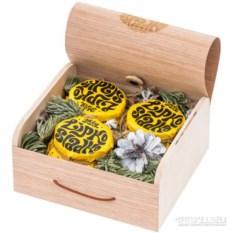Новогодний подарочный набор меда