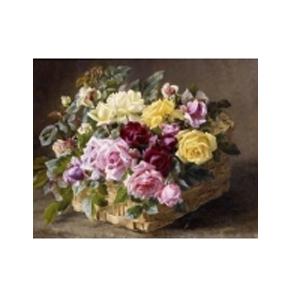 Картина «Цветы в корзинке»
