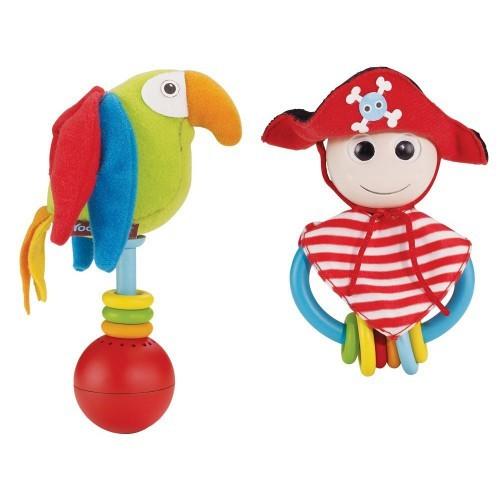 Погремушка с прорезывателем Веселый пират