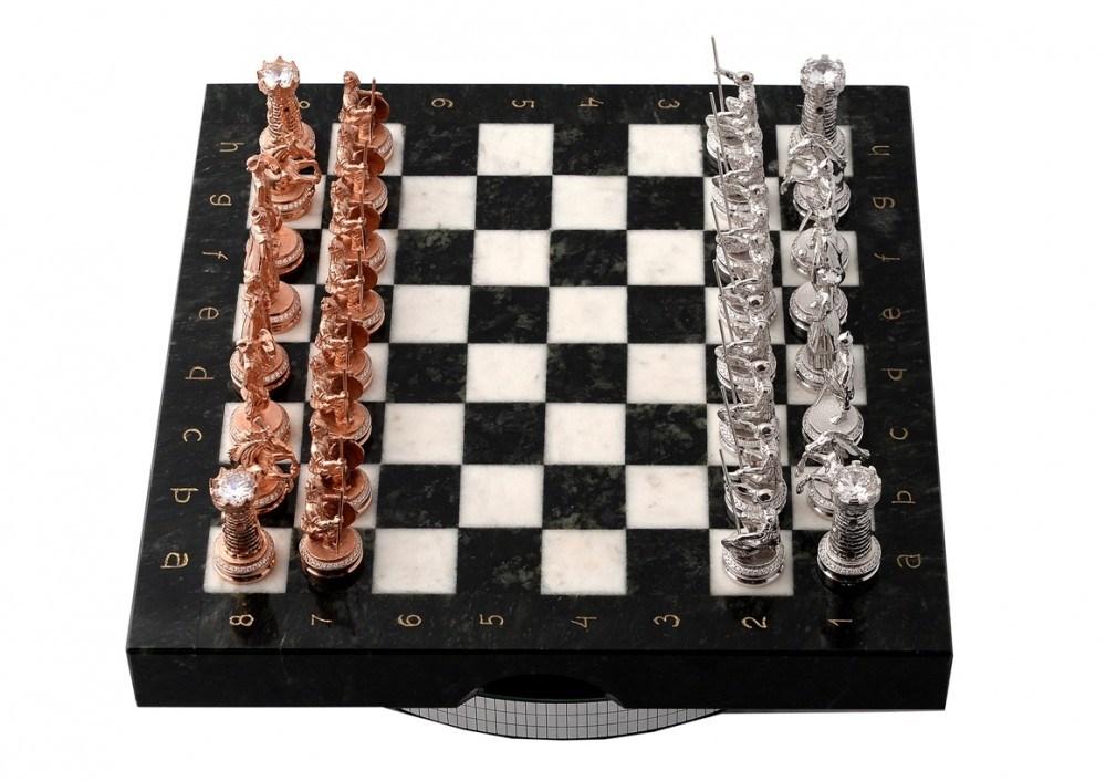 Шахматы в книге рекордов России Золото против Серебра