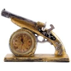 Настольные часы Пистоль