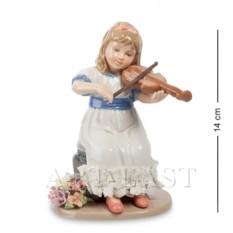 Фигурка Девочка со скрипкой (Pavone)