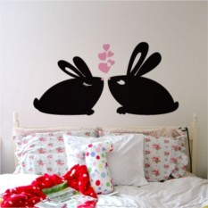 Интерьерные наклейки Кролики