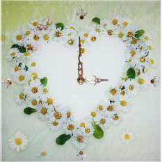 Часы Ромашки