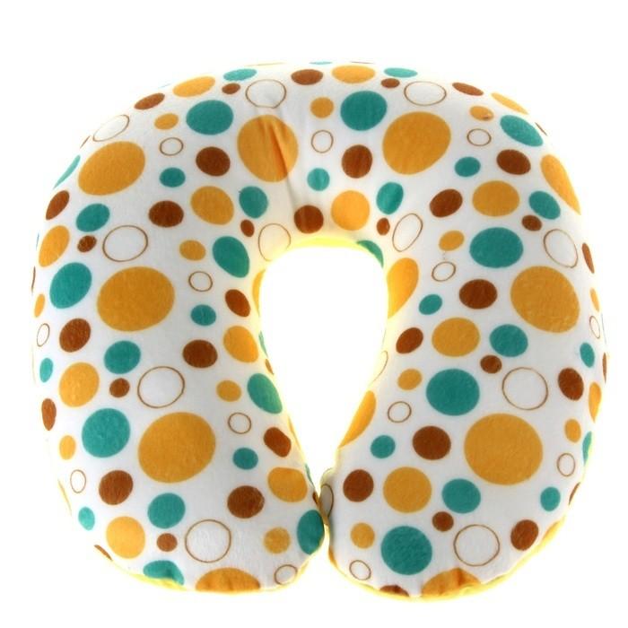 Подушка подголовник для путешествий Sunny
