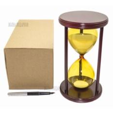 Песочные часы с белым песком на 30 минут Цветные (22 см)