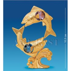 Фигурка с кристаллами Знак зодиака Рыбы