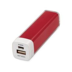 Красное портативное зарядное устройство Ангра