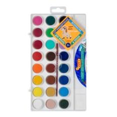 Краски с кистью Акварель 24 цвета от JOVI