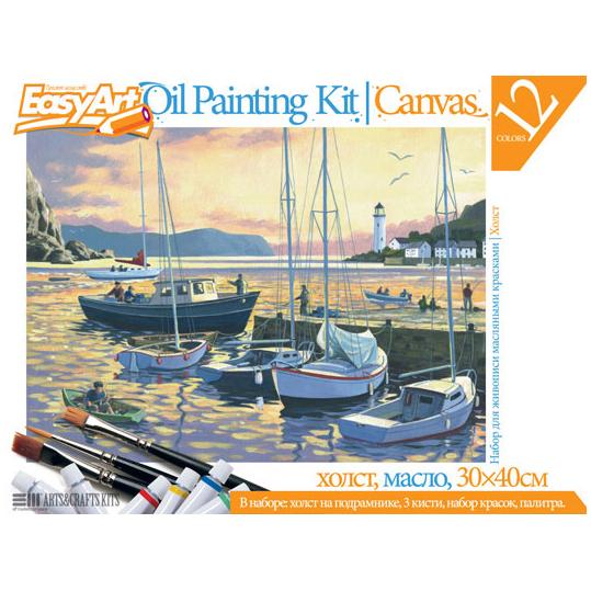 Набор для живописи «Вечерняя гавань»