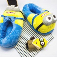 USB тапки-грелки для детей Миньоны